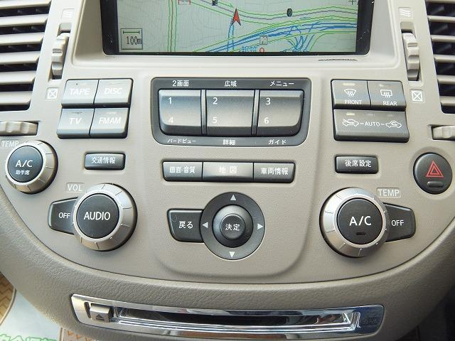 日産 シーマ 450XV 純正8型ナビ Bカメラ キセノン 電子キー