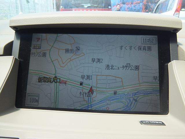 日産 シーマ 450XL 純正8型ナビ 禁煙車
