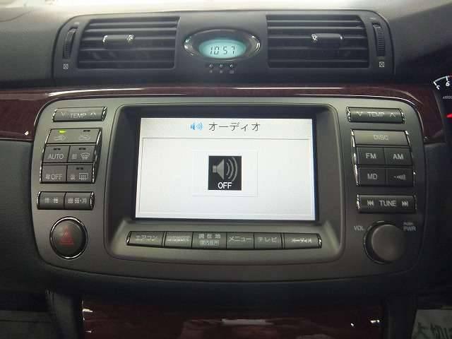 トヨタ ブレビス Ai250 黒革シート サンルーフ 純正マルチ