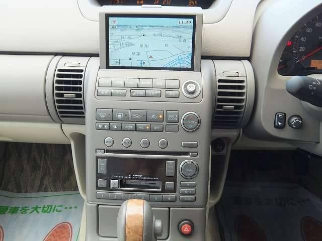 日産 ステージア 250RX 純正ナビ バックモニター キセノン