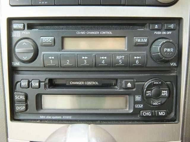 日産 ステージア 250RX キセノン アルミ CD MD