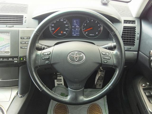 トヨタ マークX 250G Sパッケージ 後期型 純正HDDマルチ
