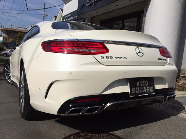 メルセデスAMG メルセデスAMG S63 4マチック クーペ 585馬力 新車保証付 D車