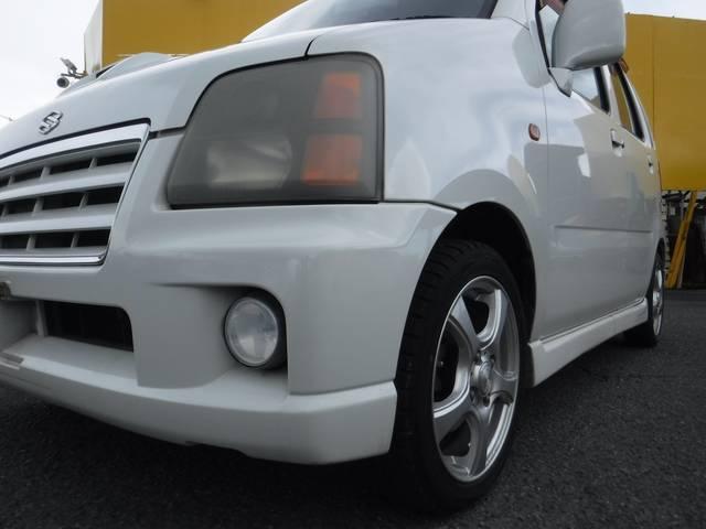 スズキ ワゴンR RR-SWTターボ フルエアロ ナビ ETC 社外アルミ