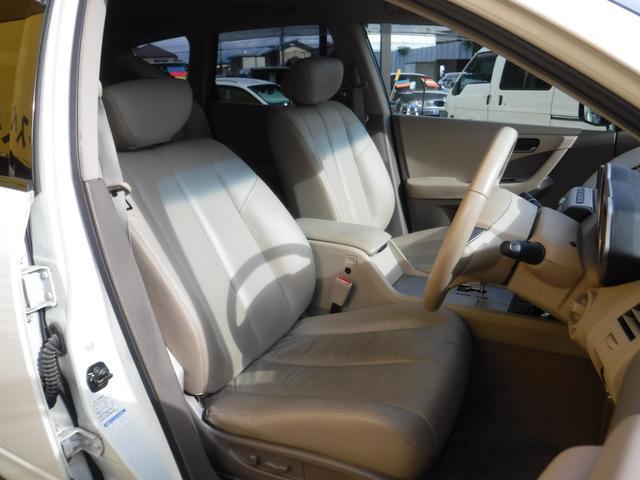 350XV 革シート ナビ 車高調 20インチアルミ(20枚目)