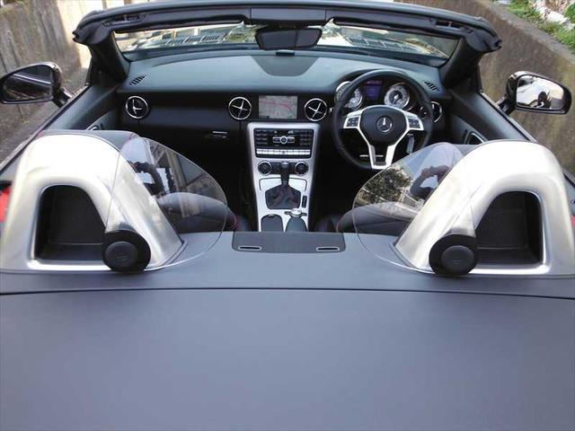 メルセデス・ベンツ M・ベンツ SLK200スポーツ AMGスタイリングPKG 黒革 1オナ
