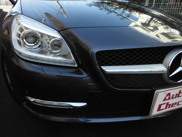 メルセデス・ベンツ M・ベンツ SLK200ブルーE 黒革 純正ナビ地デジ キーレスゴー