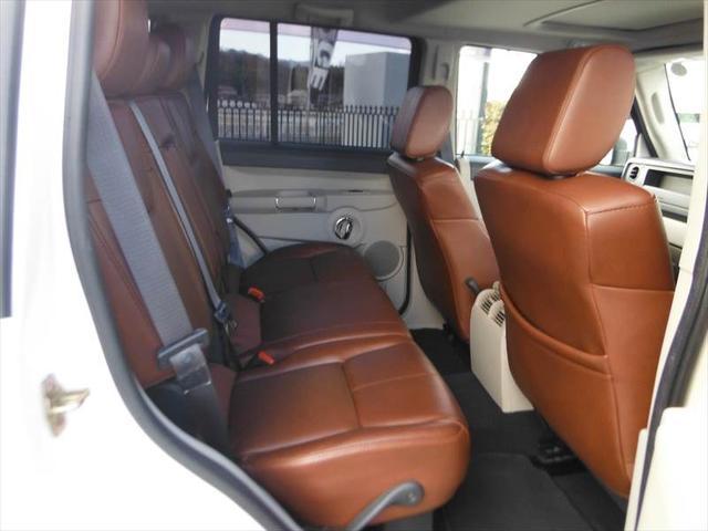 クライスラー・ジープ クライスラージープ コマンダー リミテッド5.7 HEMI 正規ディーラー車 ブラウンレザー