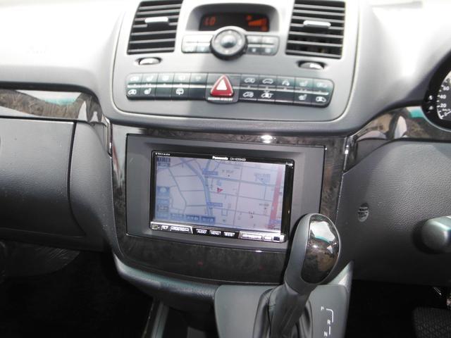 V350 アンビエンテ ワンオーナー車 黒革 HDDナビTV(10枚目)