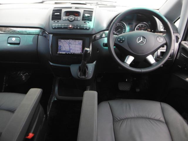V350 アンビエンテ ワンオーナー車 黒革 HDDナビTV(15枚目)