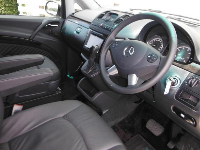 V350 アンビエンテ ワンオーナー車 黒革 HDDナビTV(16枚目)