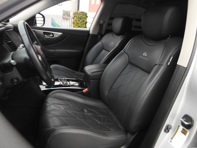FX35プレミアムPKG 新車並行 黒革 SR 22AW(13枚目)