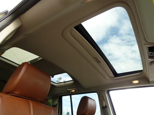リミテッド4.7 正規ディーラー車 ブラウンレザーシート サンルーフ ストラーダナビ地デジ バックカメラ サイドステップ ETC(12枚目)