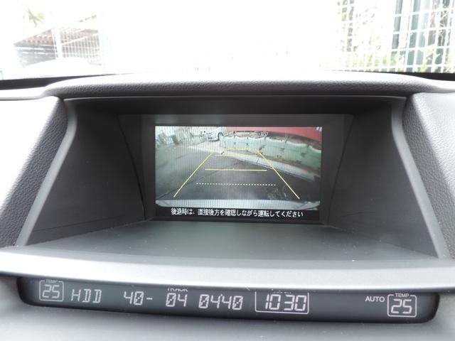 35iL 純正HDDインターナビ TV バックカメラ 本革(4枚目)