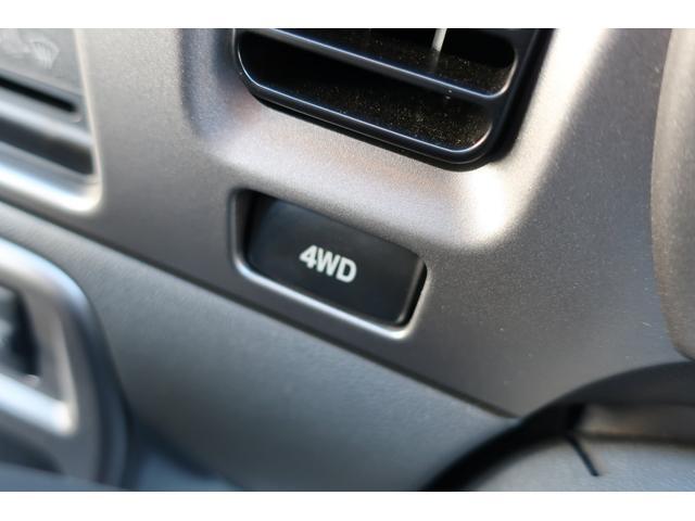 4WD切替スイッチ式です♪