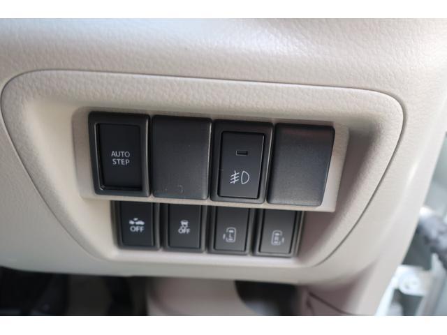 Gターボ ハイルーフ 4WD レーダーセーフティサポート搭載 純正SDナビ フルセグTV Bカメラ 両側パワースライドドア 左オートステップ 純正フルエアロ キセノンヘッドライト 14インチアルミホイール スマートキー プッシュスタートエンジン シートヒーター(18枚目)