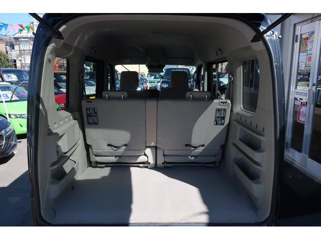 Gターボ 4WD ハイルーフ デュアルカメラブレーキサポート 両側パワースライドドア 左オートステップ 純正フルエアロ 14インチアルミホイール リアスポイラー キセノンヘッドライト 専用インテリア&シート シートヒーター ミラーヒーター スマートキー(13枚目)