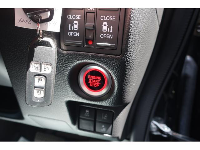 G・Lターボホンダセンシング 両側パワースライドドア ケンウッドメモリーナビ&TVSD&CD&USB&Bカメラ LEDヘッドライト&オートライト オートクルーズコントロール&パドルシフト 専用ハーフレザーシート 純正フルエアロ 社外16インチアルミ(17枚目)