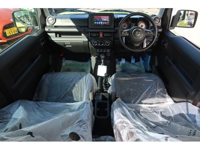 XC 4WD リフトアップフルカスタム車 5速ミッション車 社外フロントバンパー&LEDフォグライト&電動ウインチ リフトアップサス&ショック 前後強化ラテラル 社外16インチアルミ&マッドタイヤ OPフロントグリル スズキセーフティサポートシステム搭載(11枚目)