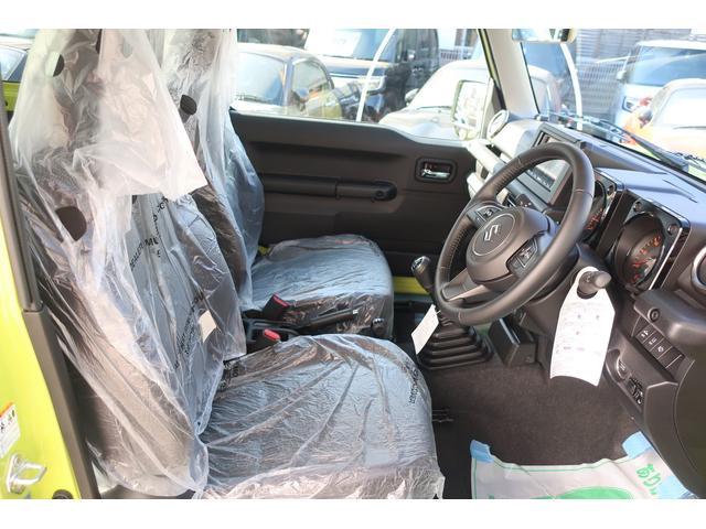 XC 4WD リフトアップフルカスタム車 5速ミッション車 社外フロントバンパー&LEDフォグライト&電動ウインチ リフトアップサス&ショック 前後強化ラテラル 社外16インチアルミ&マッドタイヤ OPフロントグリル スズキセーフティサポートシステム搭載(12枚目)