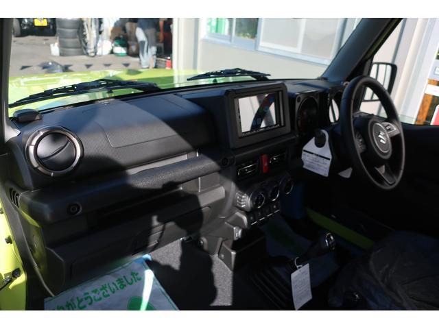 XC 4WD リフトアップフルカスタム車 5速ミッション車 社外フロントバンパー&LEDフォグライト&電動ウインチ リフトアップサス&ショック 前後強化ラテラル 社外16インチアルミ&マッドタイヤ OPフロントグリル スズキセーフティサポートシステム搭載(17枚目)