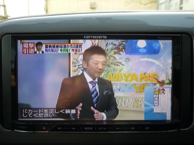 トヨタ ウィッシュ X 社外ナビTV DVD再生 ETC バックカメラ キーレス