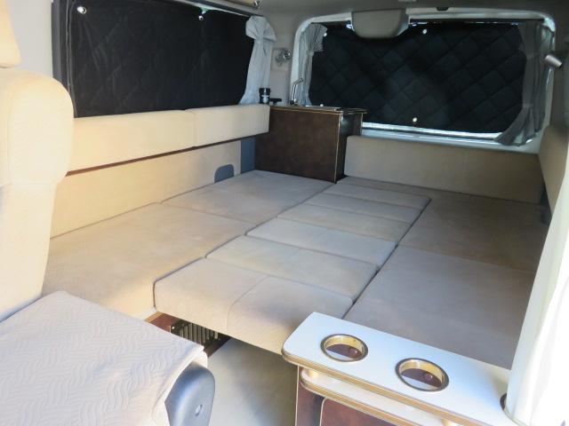 GX ライダー リラックスワゴン 10人乗り サブバッテリー 走行充電 インバーター ナビ ETC バックカメラ キセノンヘッドライト デイライト フロントリップ 社外アルミ スタビ ショック テールランプ(5枚目)