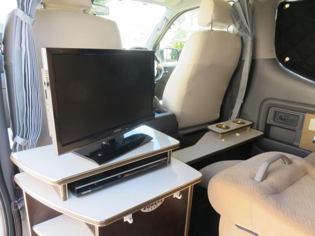 GX ライダー リラックスワゴン 10人乗り サブバッテリー 走行充電 インバーター ナビ ETC バックカメラ キセノンヘッドライト デイライト フロントリップ 社外アルミ スタビ ショック テールランプ(17枚目)