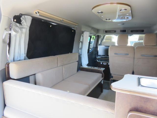 GX ライダー リラックスワゴン 10人乗り サブバッテリー 走行充電 インバーター ナビ ETC バックカメラ キセノンヘッドライト デイライト フロントリップ 社外アルミ スタビ ショック テールランプ(29枚目)
