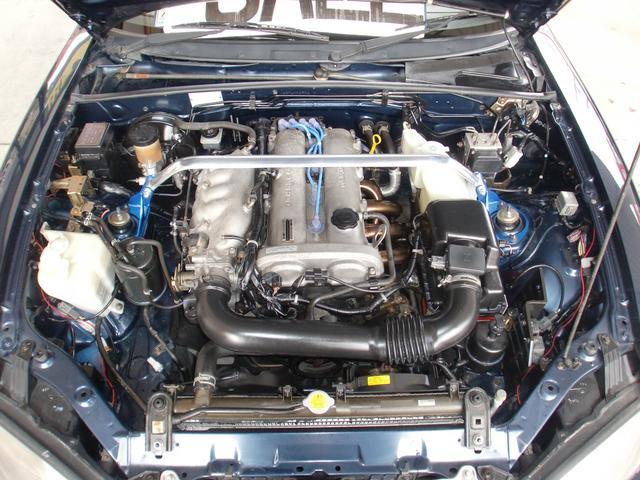 エンジン自体はノーマルで安心です☆異音等も無く高回転まできれいに吹け上がります☆