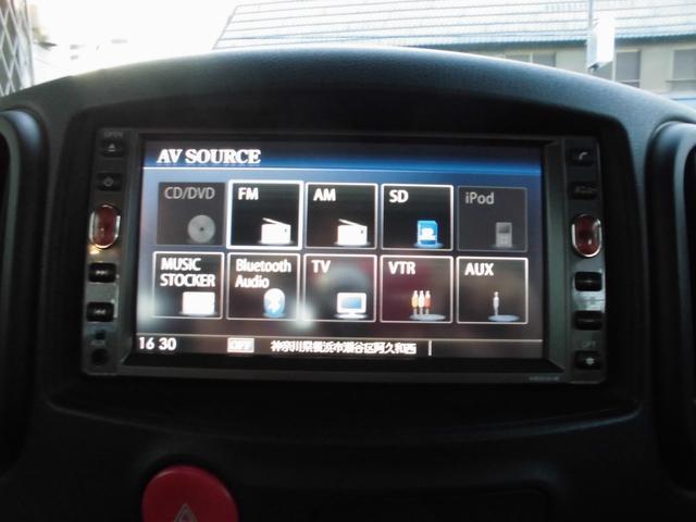 日産 キューブ 15S FOUR 4WD ナビTV