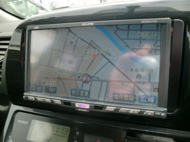 トヨタ ウィッシュ X エアロスポーツパッケージ 社外ナビ HID ETC