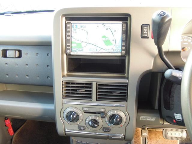 日産 キューブ トラビス 4WD  スマートキー DVDナビ アルミ