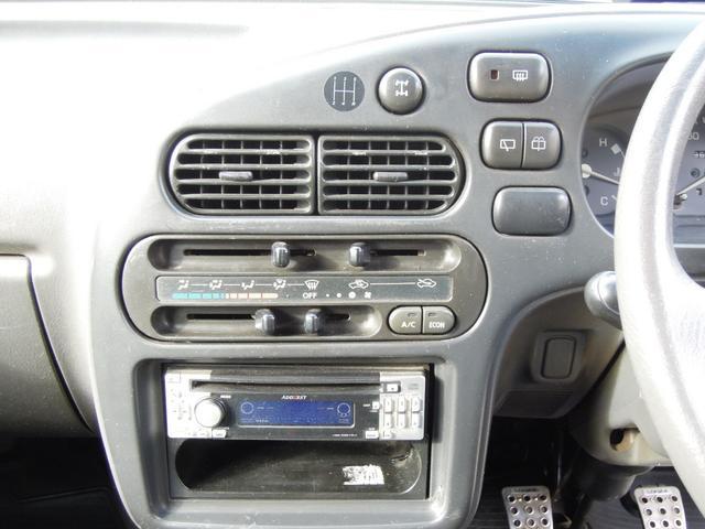 天晴 5速MT 4WD 集中ドアロック 社外CDデッキ(16枚目)