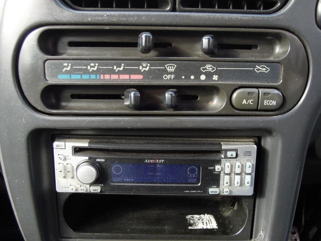 天晴 5速MT 4WD 集中ドアロック 社外CDデッキ(18枚目)