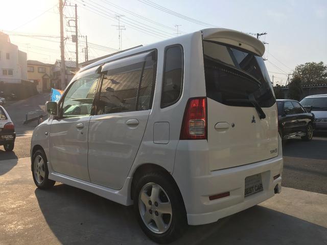 三菱 トッポBJ R 4WD ターボ ワンオーナー 記録簿 純正AW