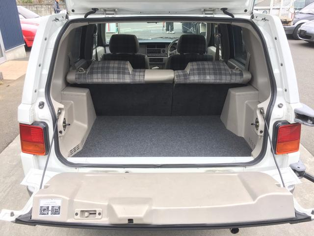 日産 ラシーン タイプIII 4WD サンルーフ AW14 スペアタイヤ