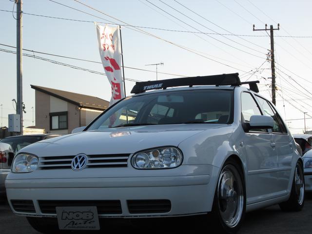 フォルクスワーゲン VW ゴルフ E KW車高調 BOYDS17インチ HID ETC CD