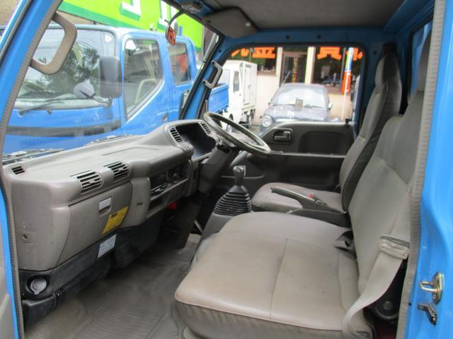 いすゞ エルフトラック フルフラットローダンプ 4.3デイーゼル 2トン