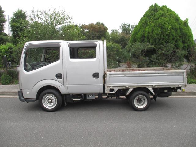 日産 アトラストラック WキャブフルスーパーローDX 6人乗り 1250Kトン