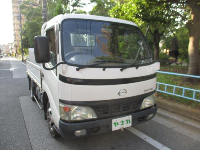 日野 デュトロ 全低床パワーゲート600K ガソリン車