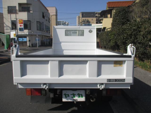 日産 アトラストラック 4.8デイーゼルフルスーパーロー強化 3トン ダンプ