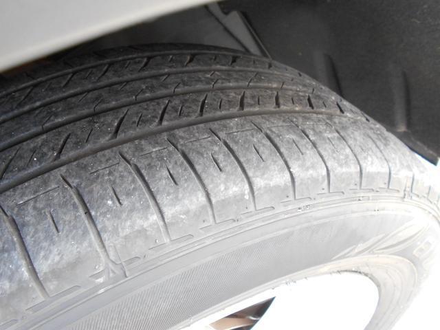 前輪のタイヤ残り溝は 約5mm!!