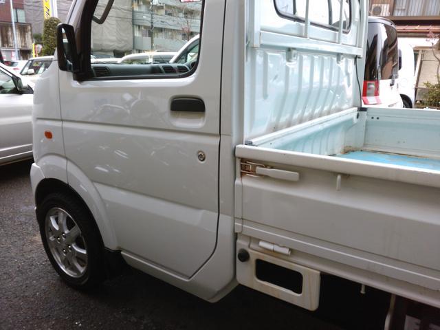 スズキ キャリイトラック 4WD パワステ エアコン
