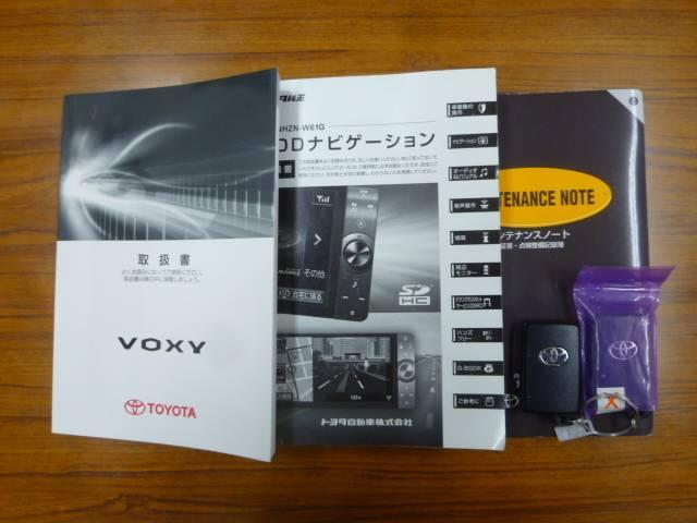 トヨタ ヴォクシー ZS 煌II ワンオーナー HDDナビ TV バックモニター