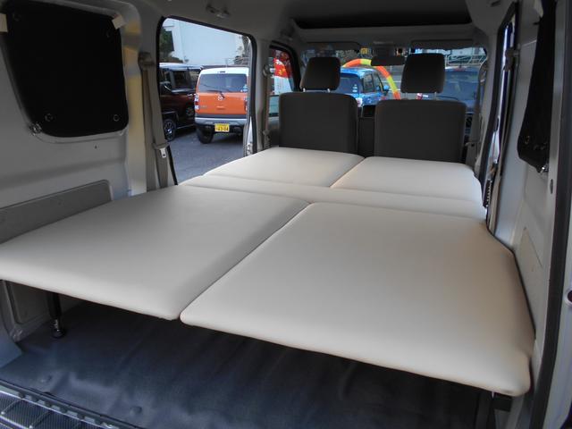 GXターボ ワンオーナー 車中泊ベットキット リフトアップ LEDライト エマージェンシーブレーキ(28枚目)