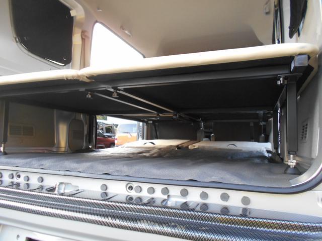 GXターボ ワンオーナー 車中泊ベットキット リフトアップ LEDライト エマージェンシーブレーキ(30枚目)