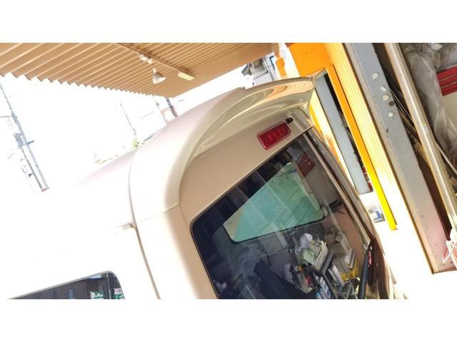 CD ハイルーフ パワステ 純正5速MT リアウイング装着 営業用黒ナンバー申請対応 保証付(15枚目)