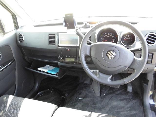 スズキ ワゴンR スティングレーTエアロターボキセノンベンチシートアルミETC