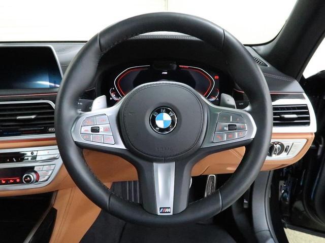 740i Mスポーツ 後期モデル BMW認定中古車2年保証 茶革 20インチAW(7枚目)